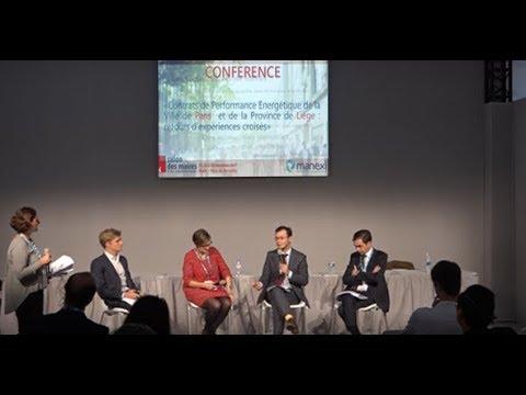 Conférence Contrat de Performance Énergétique - MANEXI bureau d'études