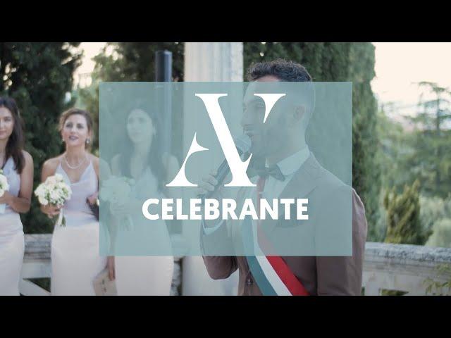 Celebrante rito simbolico a Villa Cortine - Andrea Vivona - Celebrazione Matrimonio Civile