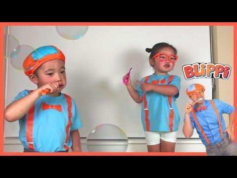 BLIPPI Tooth Brushing Song | BLIPPI Inspires Kids to Brush Teeth