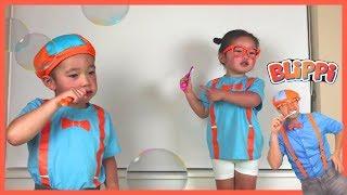 Blippi Tooth Brushing Song Inspired Kids to Brush Teeth