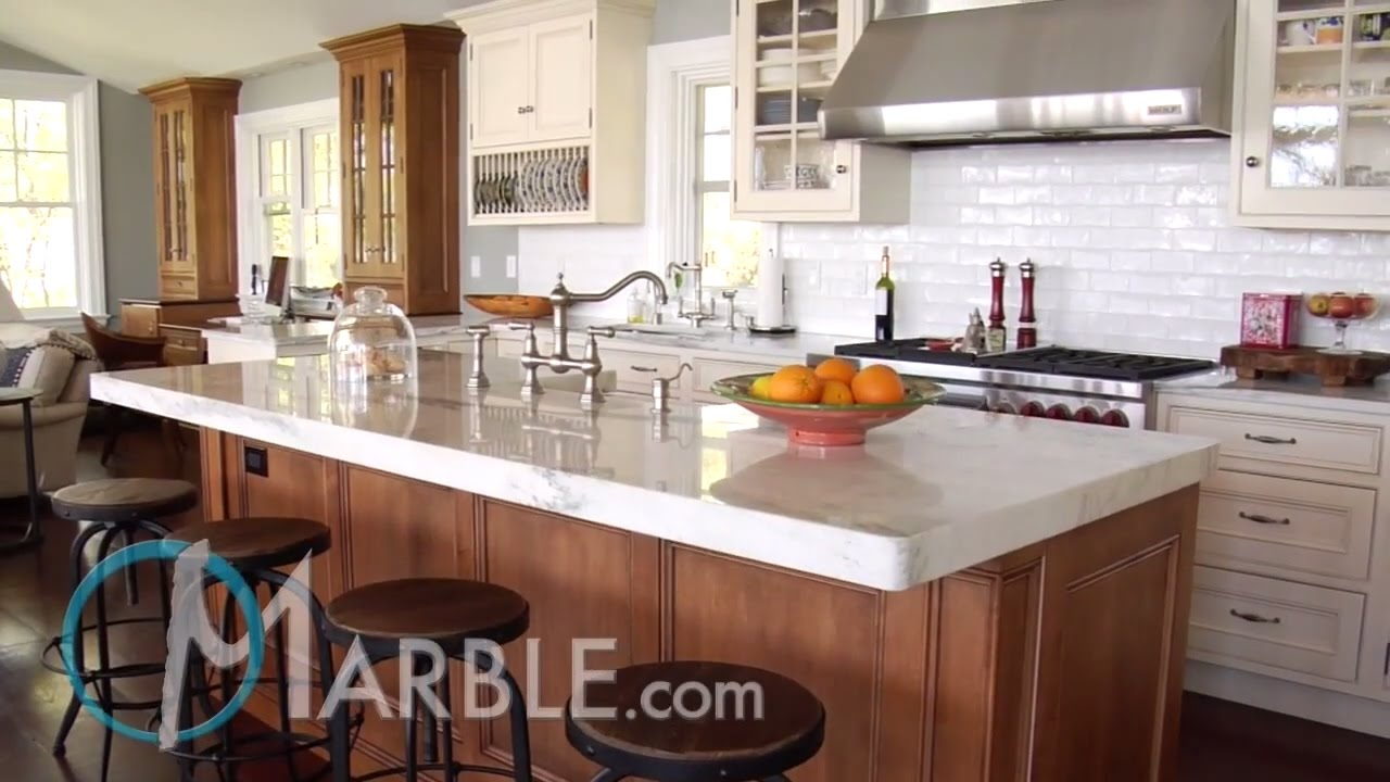 Mountain White Danby Marble Kitchen Countertops Marble Com