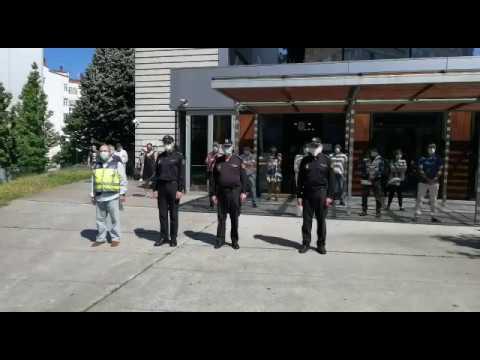 Minuto de Silencio en la Comisaría de Vigo