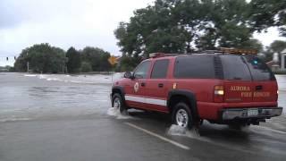 Flooding in Aurora, CO (09-12-13)