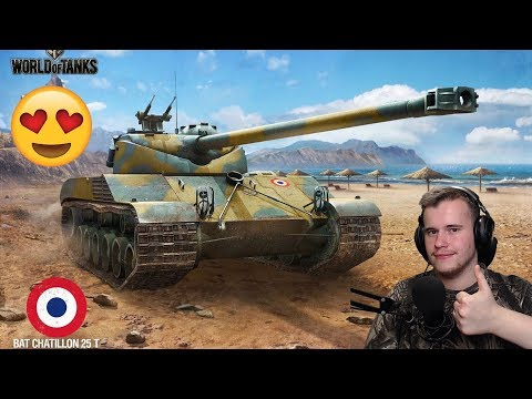 BatChat 25 t Gyakorlás!?? || World of Tanks Random Live #81 thumbnail