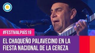El chaqueño Palavecino en la Fiesta Nacional de la Cereza - #FestivalPaís19