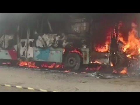 Onda de ataque a ônibus em Fortaleza