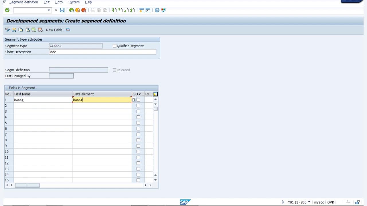 SAP ABAP - IDOC