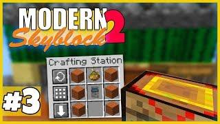 Fusion Crafting! - Minecraft Modern Skyblock 2 - #3