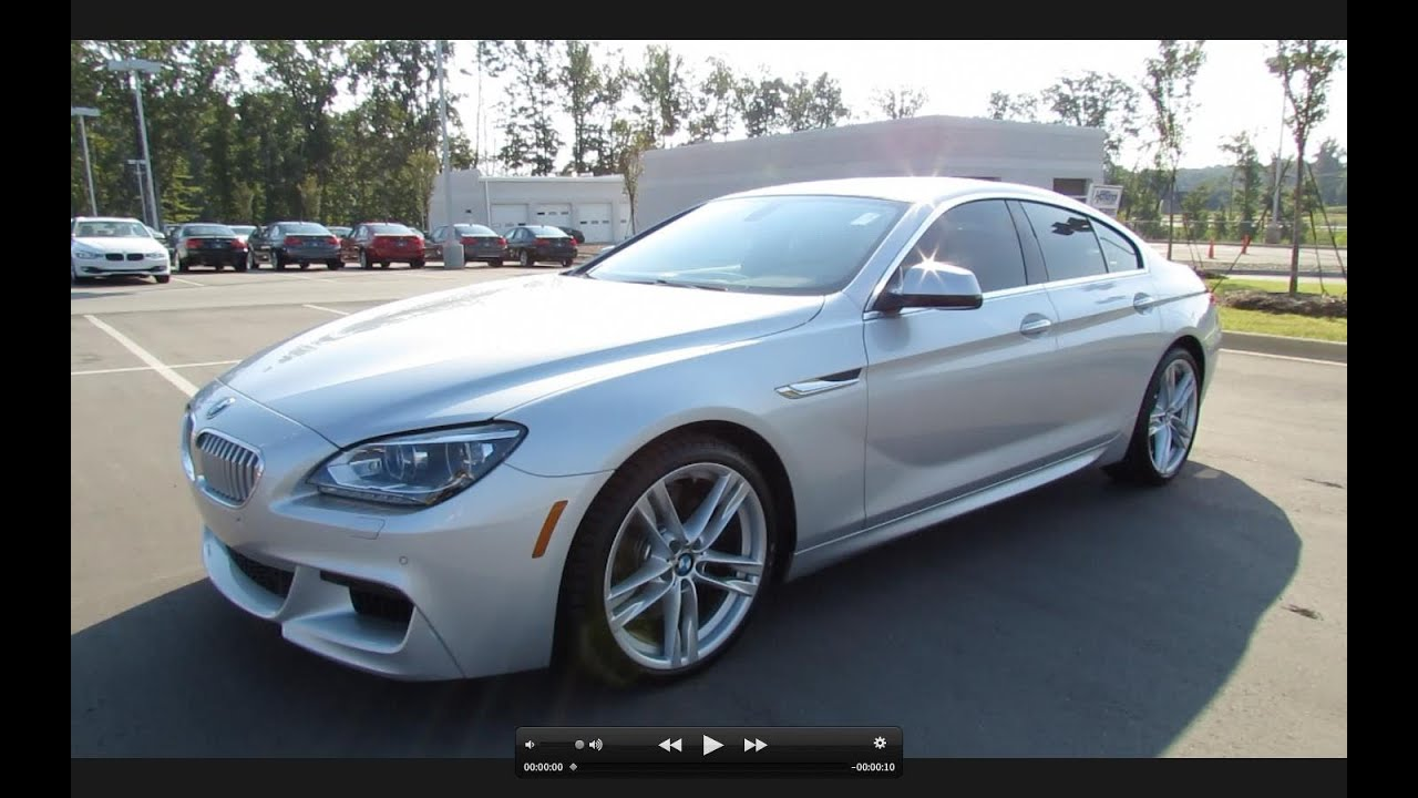 2013 BMW 650i Gran Coupe MSport Start Up Exhaust and In Depth
