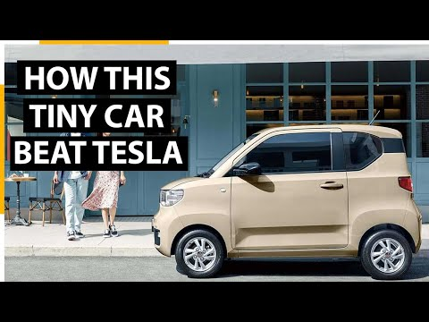 Why is this Chinese electric car the world's best selling car
