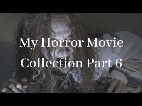 My Horror Movie Collection Part 6 #horror #horrortube #movietube