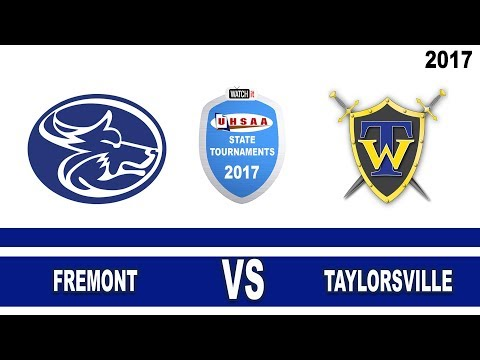 5A Girls Basketball: Fremont vs Taylorsville High School UHSAA 2017 State Tournament Round 1