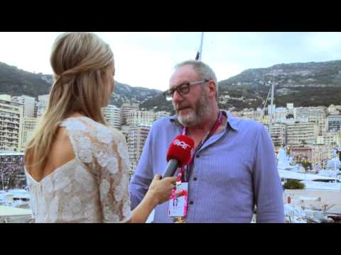 Fani Stipkovic exclusive interview with Liam Cunningham