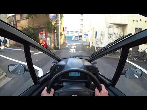 トヨタ i-ROAD 市街地試乗|TOYOTA i-ROAD POV Tokyo Drive
