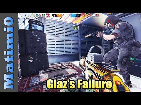 Glaz's Failure - Rainbow Six Siege