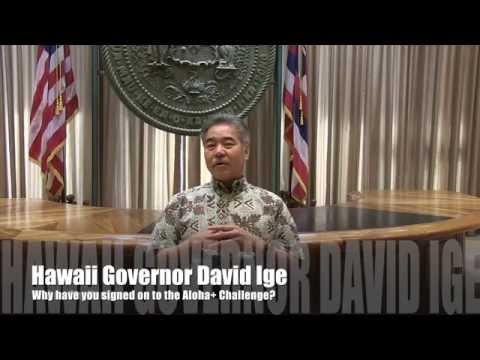 Aloha+  Challenge Governor David Ige HD