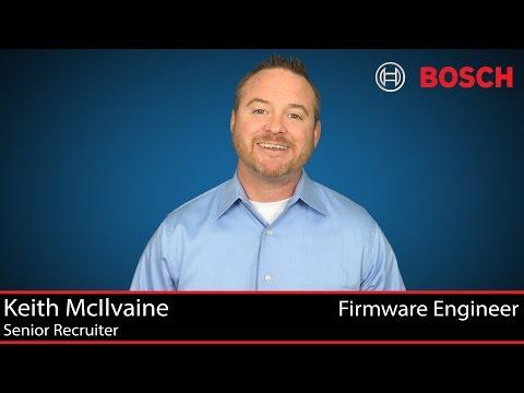 Bosch Firmware Engineer