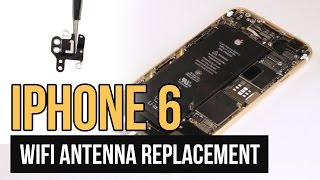 iphone 6 wifi bluetooth antenna replacement video guide