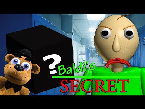 "FNAF Plush – Baldi's Basics ""Baldi's Secret!"""