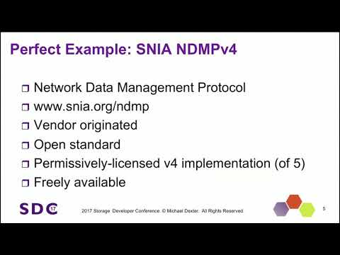 SDC 2017 - By the Book: Open Source Reference Implementations for Key SNIA Terminology