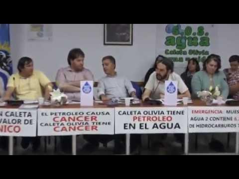 Audiencia pública por la emergencia hídrica en Santa Cruz