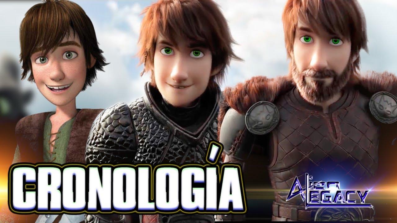 Cronologia Linea De Tiempo Completa De Como Entrenar A Tu Dragon Ceatd Httyd Alien Legacy Youtube