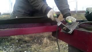 видео Газовая сварка рыбаков (сварка и резка металлов. рыбаков в.м. 1979)