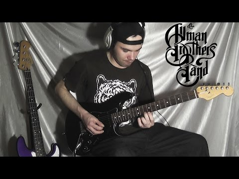 The Allman Brothers Band - Jessica guitar playthrough (+jamming) HQ