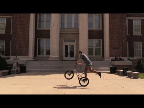 Terry Adams 2014 Campus Tour - University of Cincinnati