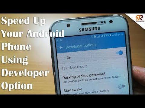 Speed Up Your Android Phone using Developer Options