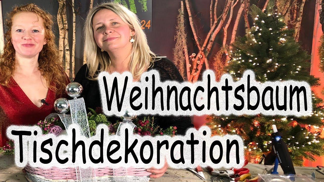 Diy Weihnachtsdeko Selber Machen Weihnachtsbaum Fur Den Tisch