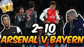Arsenal 1-5 Bayern Munich (Agg 2-10) | Arsene Wenger out?...