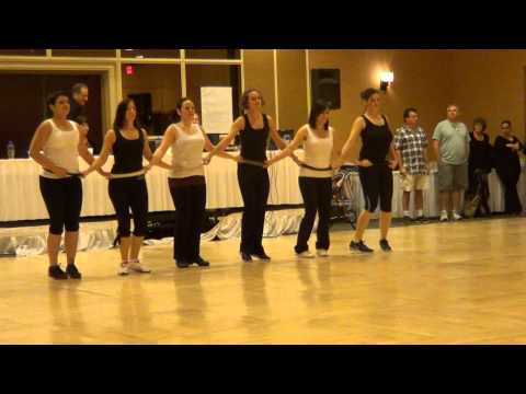 RIPNA MACA Serbian Dance by Serbian Group at 2013 MACHOL MIAMI ISRAELI DANCE WEEKEND