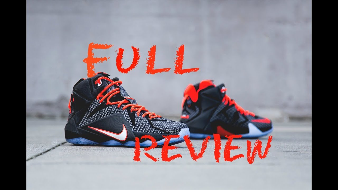 new arrivals 41758 fdc0c italy lebron 12 court vision review and on foot 18513 702db