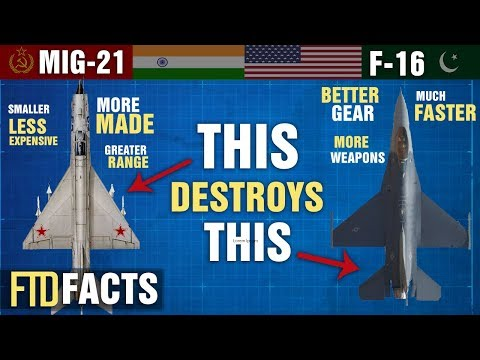 The Differences Between MiG-21 FISHBED and F-16 FIGHTING FALCON