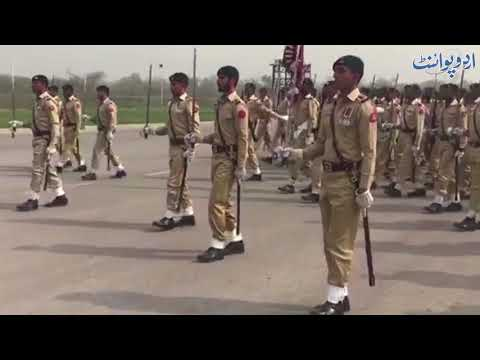 Preparations of 23rd March Celebrations at Parade Ground Islamabad