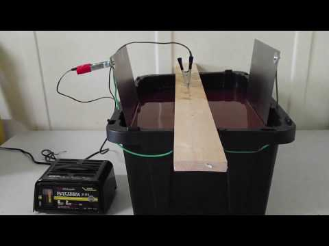 How to Build & Use an Electrolysis Tank - Florida Urban Homesteading Nonprofit