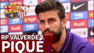 Rueda de prensa de Piqué y Valverde   Diario AS