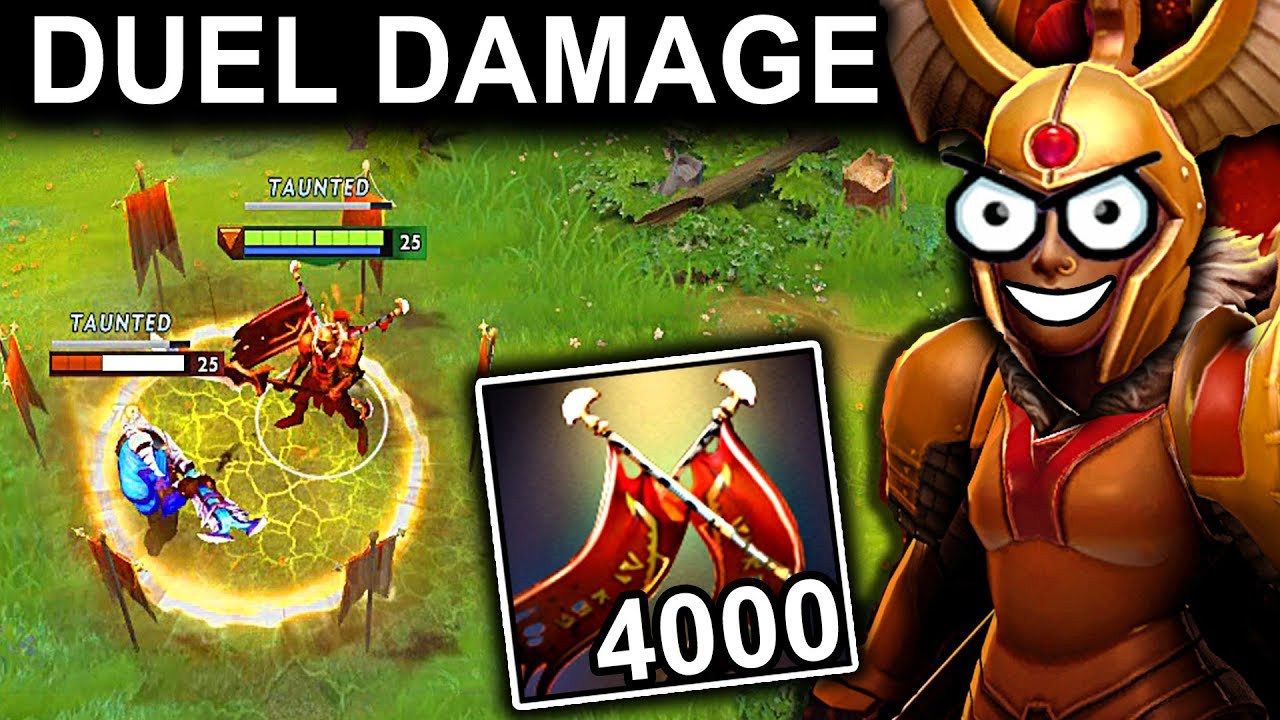 EPIC 4000 DAMAGE LEGION COMMANDER PATCH 712 DOTA 2 NEW