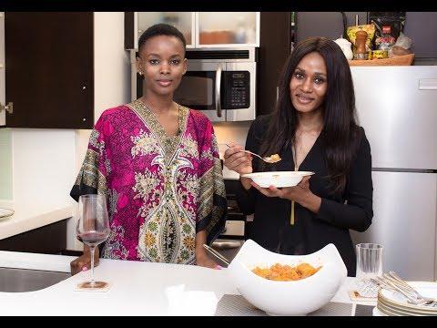 Flaviana Matata - Cooks Ndizi  (The Best African Foods )
