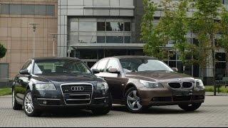 Audi A6 C6 vs BMW 5 E60 что дороже в обслуживании и ремонте?(, 2017-01-22T13:32:14.000Z)
