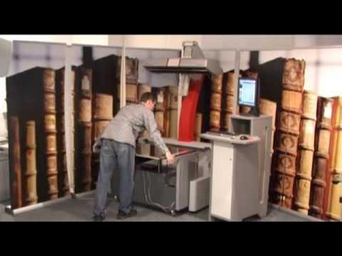 Zeutschel OS 14000 Series Book Scanner