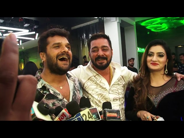 Khesari Lal Yadav & Hindustani Bhau Full funny Interview ''Love Ka Injection'' Bhojpuri Adda