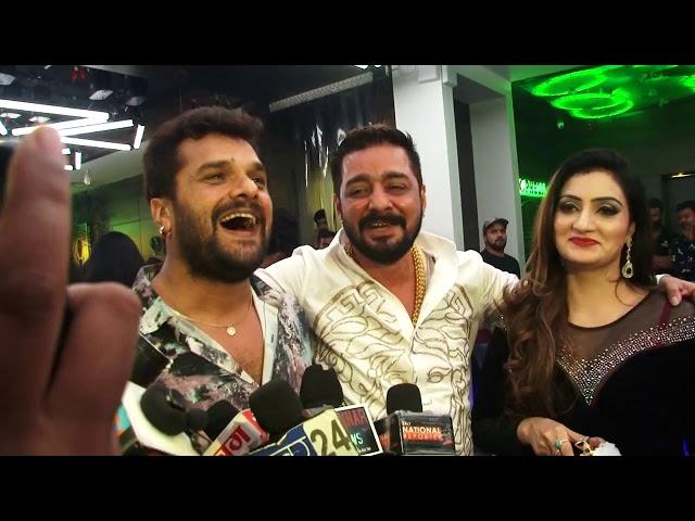 Khesari Lal Yadav & Hindustani Bhau Full funny Interview ''Love Ka Injection'' Bhojpuri Adda