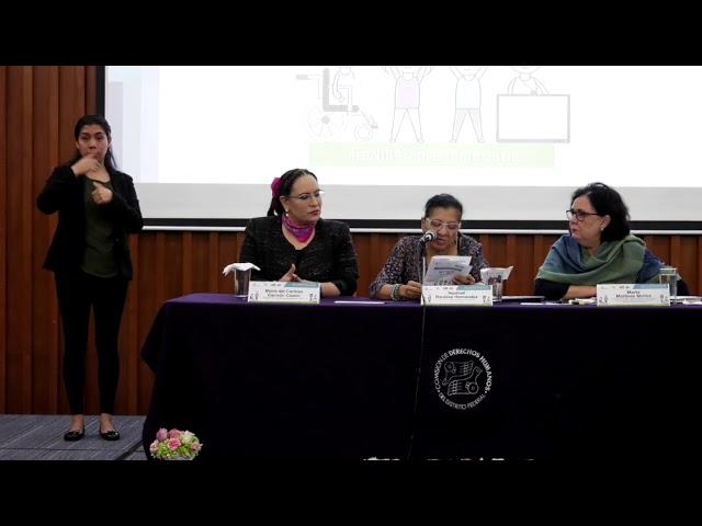 Discurso de Presidenta de la #CDHCM en el segundo día de la Jornada #LaNiñezEnLaDemocracia