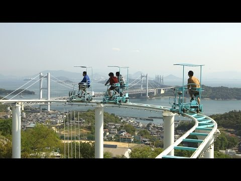 This Horrifying Roller Coaster In Japan Is Pedal-Powered