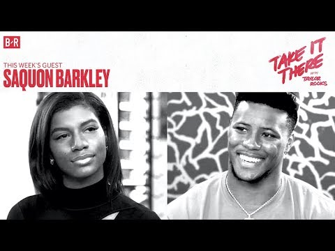 Saquon Barkley Says He Can Be the Best RB Ever | Take It There with Taylor Rooks S1E3