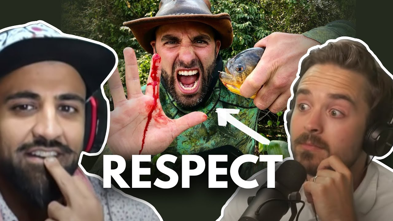 Coyote Peterson Taking Bites from Insects Testing His Pain Index and Everyone is Saying it's Fake