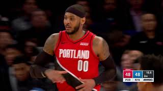New York Knicks vs Portland Trail Blazers | January 1, 2020