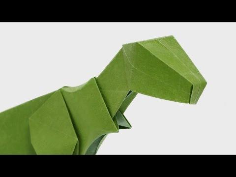 Disney The Good Dinosaur Arlo Origami Craft Instructions ... | 360x480